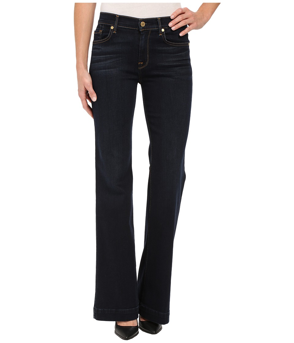 7 For All Mankind - Ginger w/ Press Crease in Slim Illusion Dark Madrid Night (Slim Illusion Dark Madrid Night) Women's Jeans
