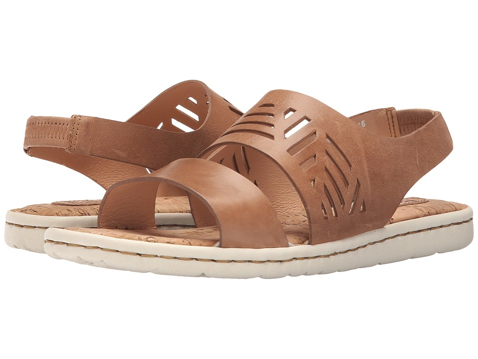 Born Faina (Tan Full Grain Leather) Women