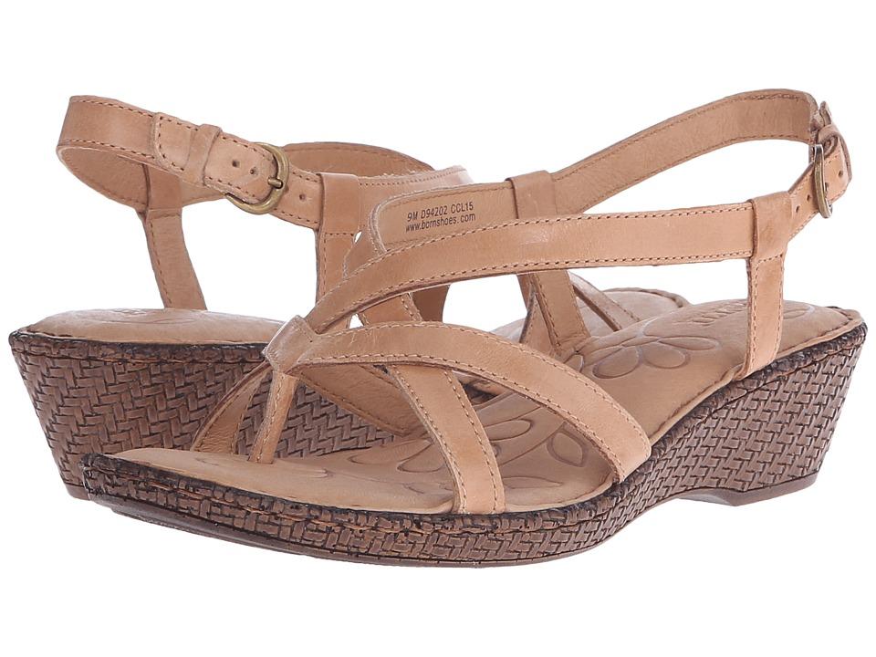 Born - Cammi (Natural Full Grain Leather) Women