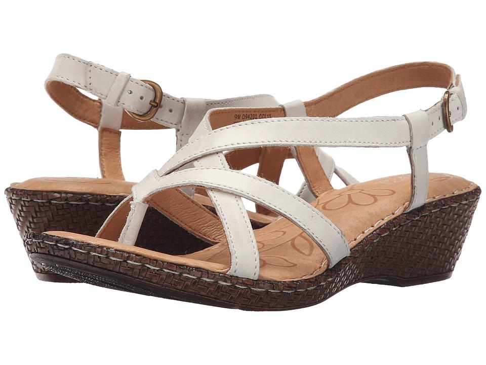 Born - Cammi (Bianco Full Grain Leather) Women