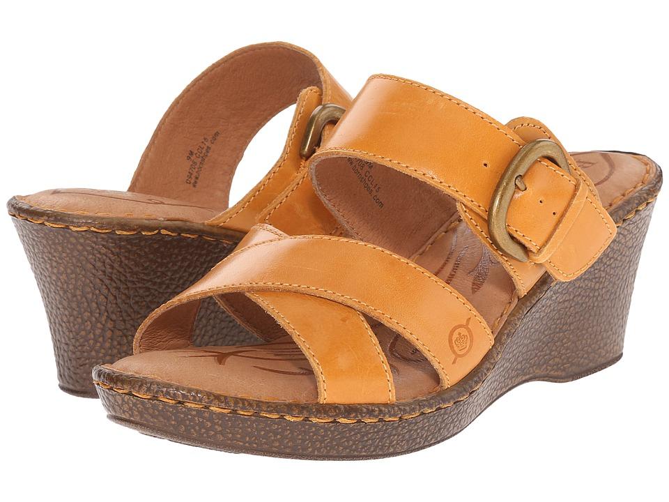Born - Clarice (Mango Full Grain Leather) Women