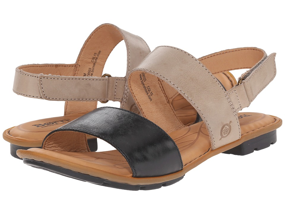 Born - Wendy (Black/Bath Full Grain Leather) Women's Sandals