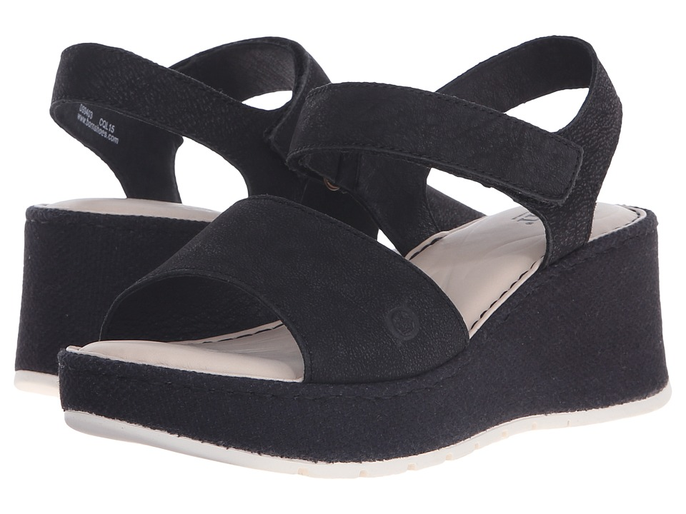 Born Lucee (Black Washed Nubuck) Women
