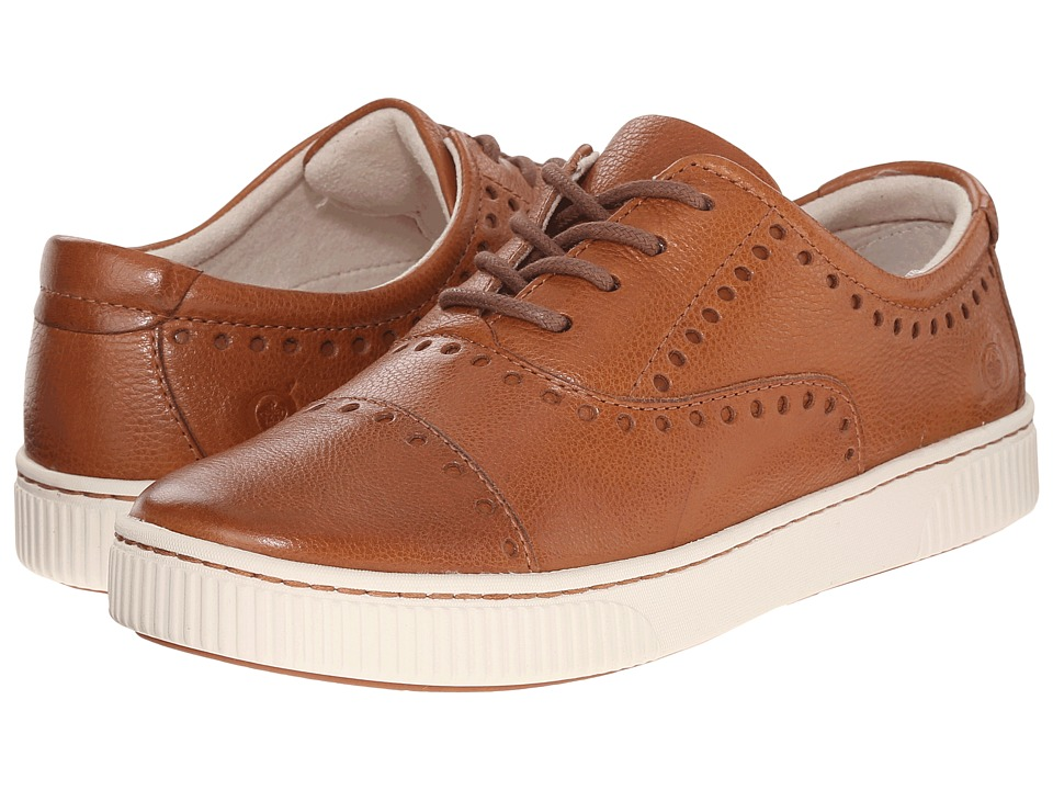 Born - Cymbal (Cognac Full Grain Leather) Women's Lace up casual Shoes