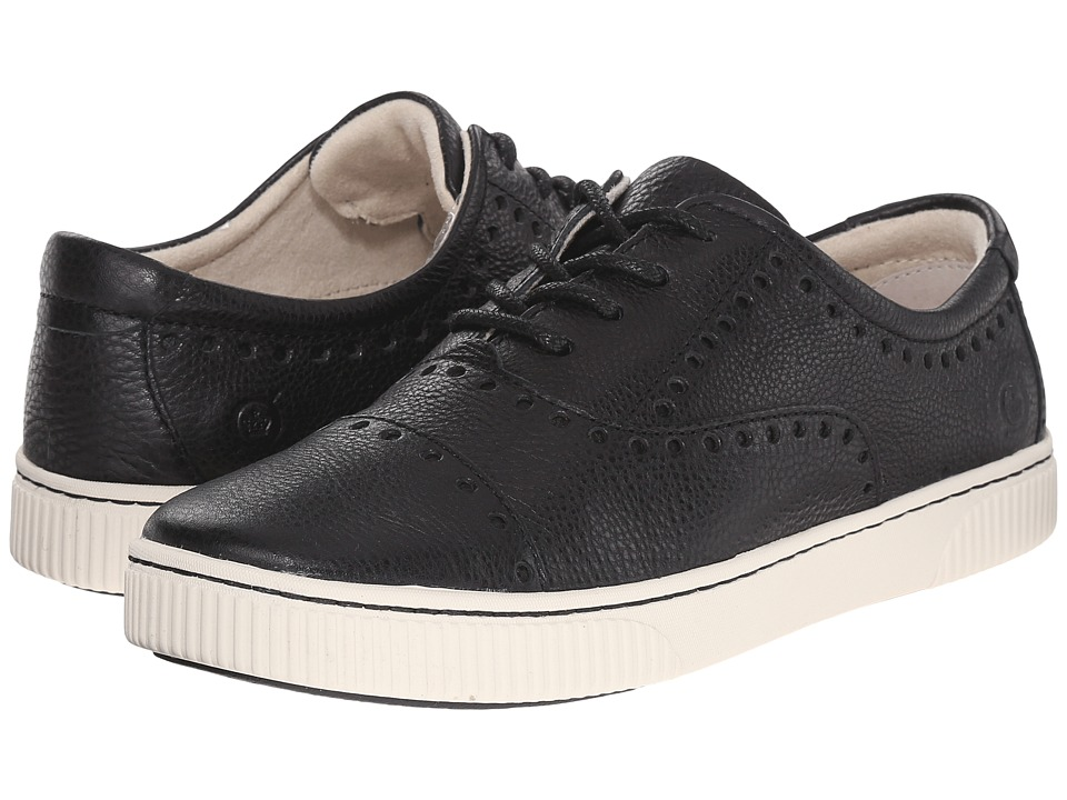 Born - Cymbal (Black Full Grain Leather) Women's Lace up casual Shoes