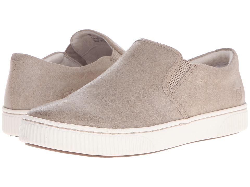 Born - Richie (Castoro Waxed Suede) Women's Slip on Shoes