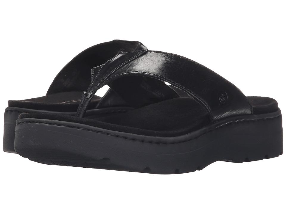 Born Bermuda (Black Full Grain Leather) Women