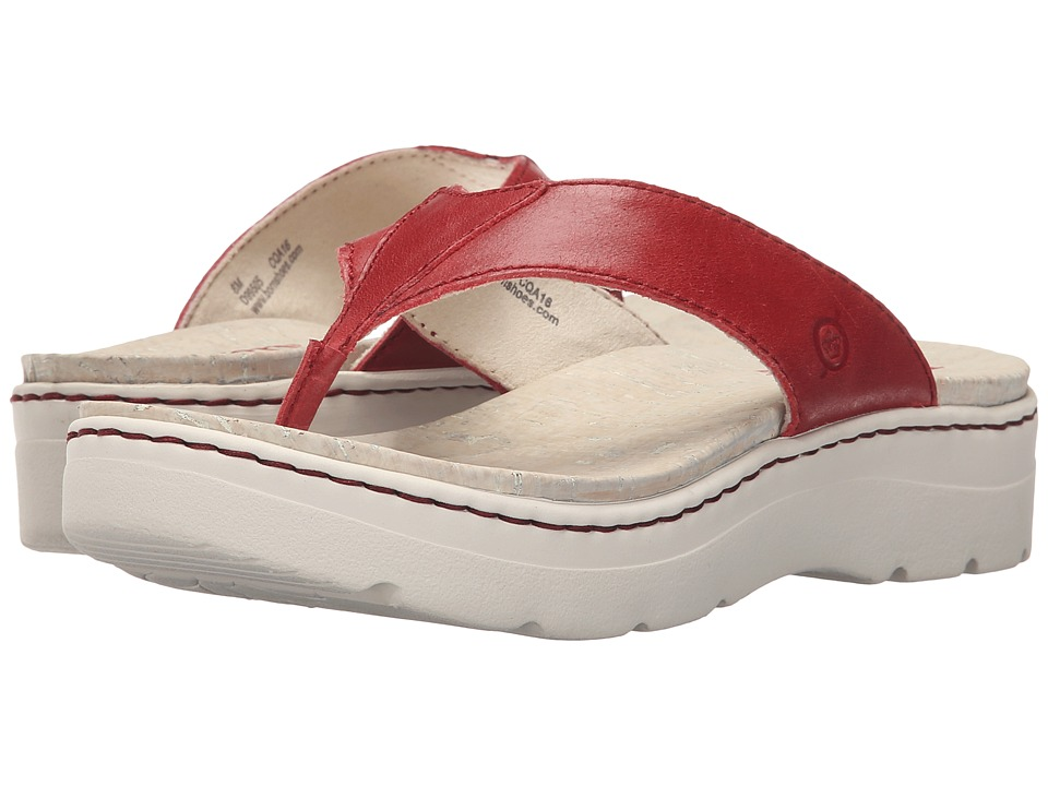 Born Bermuda (Fire Full Grain Leather) Women