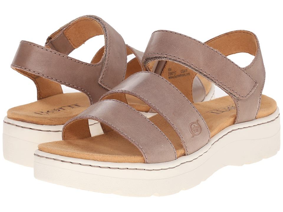 Born women's sandals brown