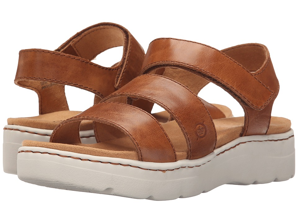 Born - Bastille (Nut Full Grain Leather) Women's Sandals