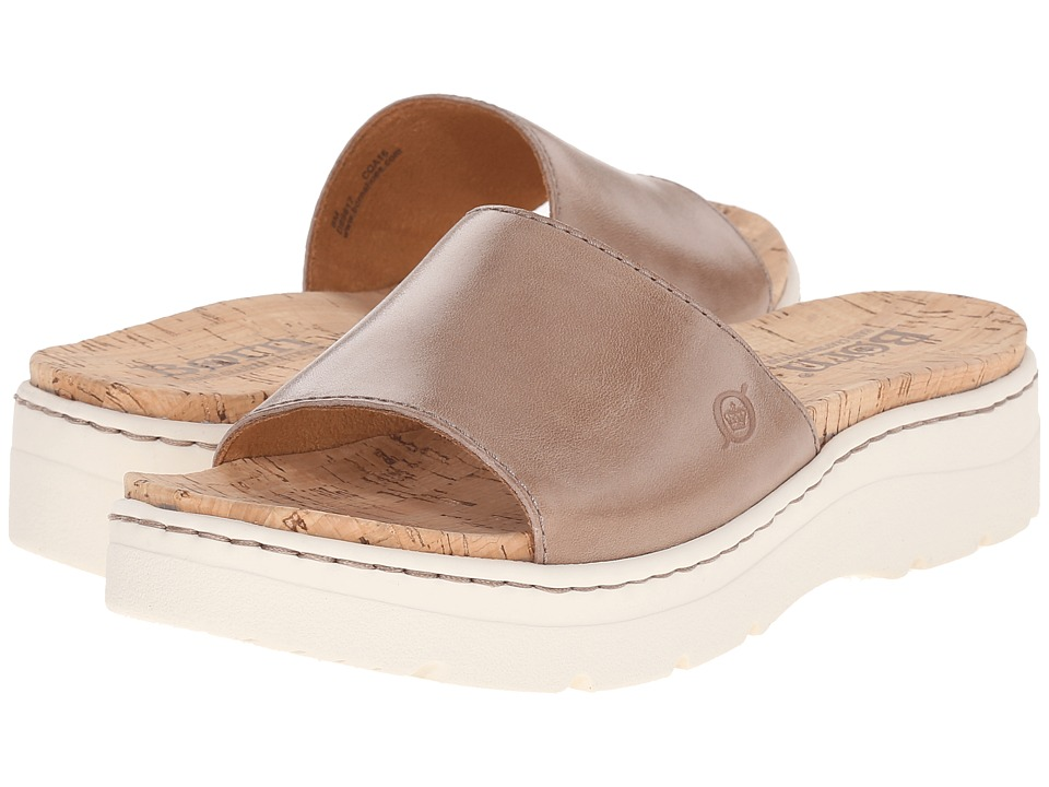Born Benitez (Taupe Full Grain Leather) Women