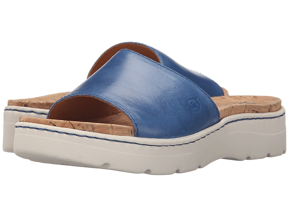 Born Benitez (Sea Blue Full Grain Leather) Women