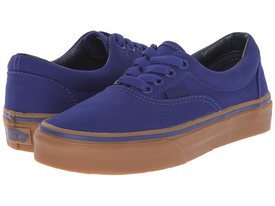 Vans Kids - Era (Little Kid/Big Kid) ((Canvas) Blueprint/Gum) Boys Shoes