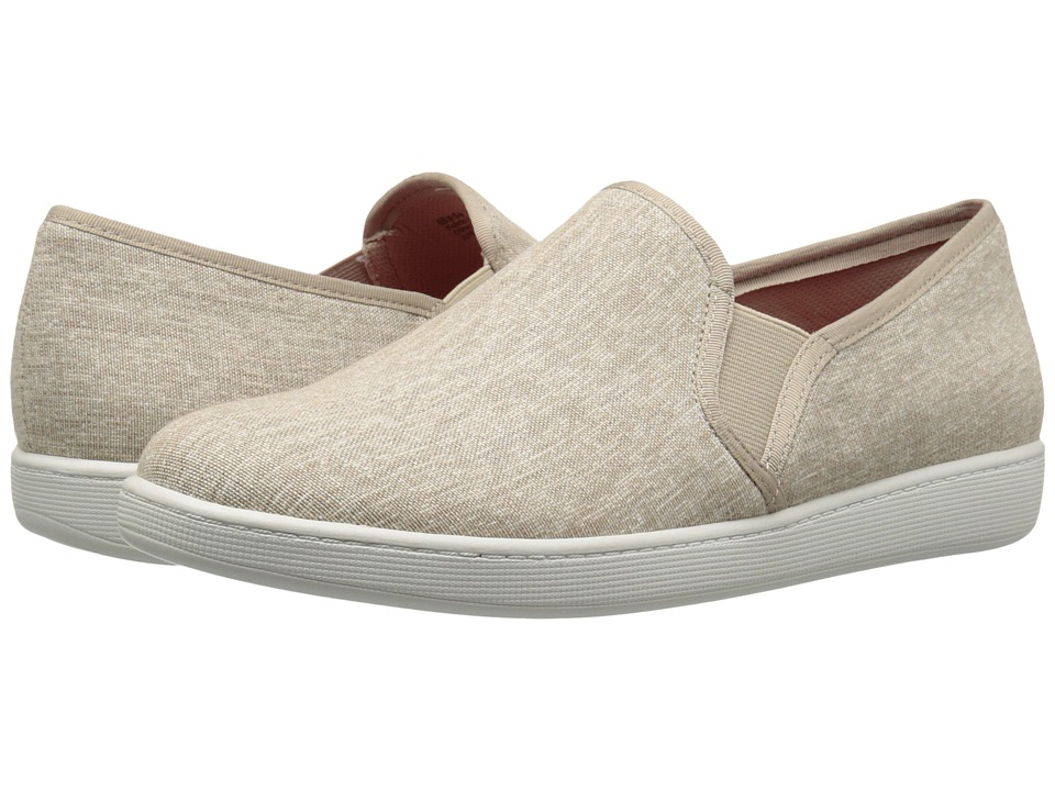 Trotters - Americana (Natural Canvas) Women's Slip on Shoes