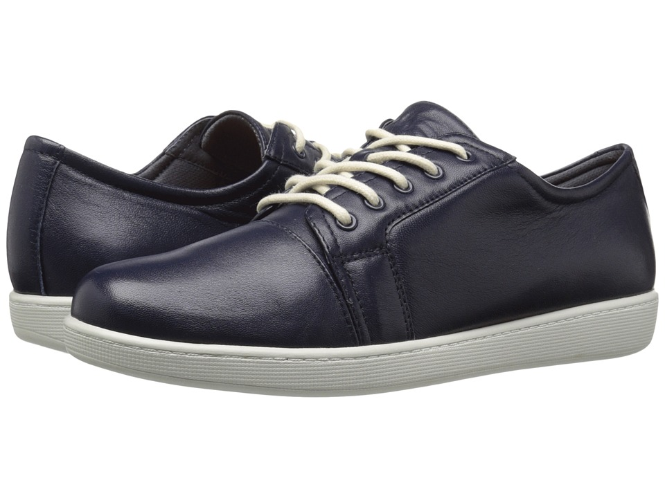Trotters Arizona (Navy Full Grain Nappa Soft Leather) Women