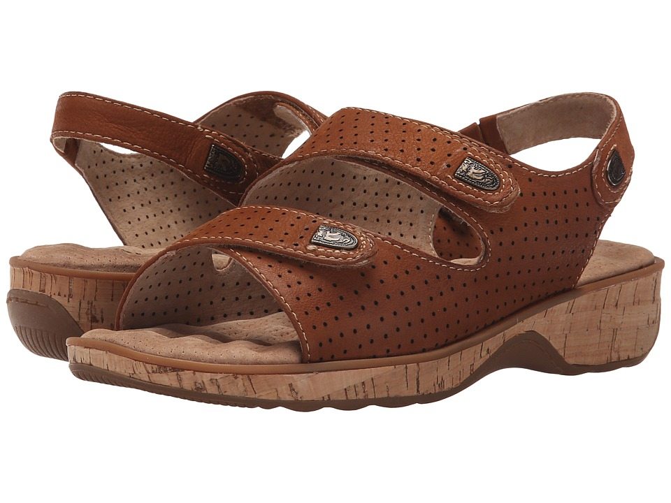 SoftWalk - Bolivia (Tan Tumbled Buff Leather) Women