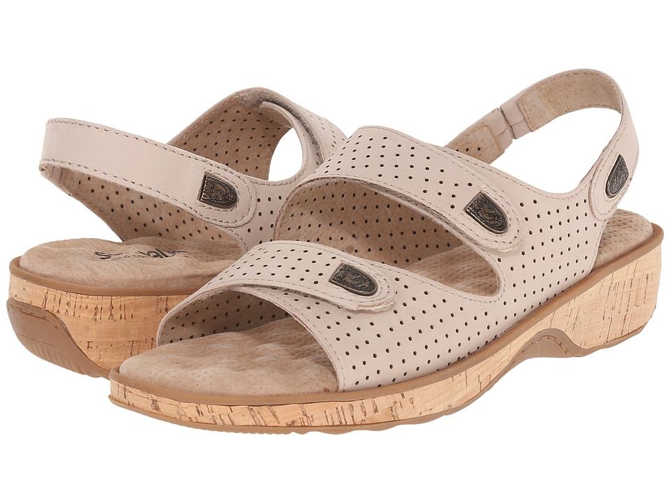 SoftWalk - Bolivia (Sand Perf Nubuck Leather) Women's Sandals