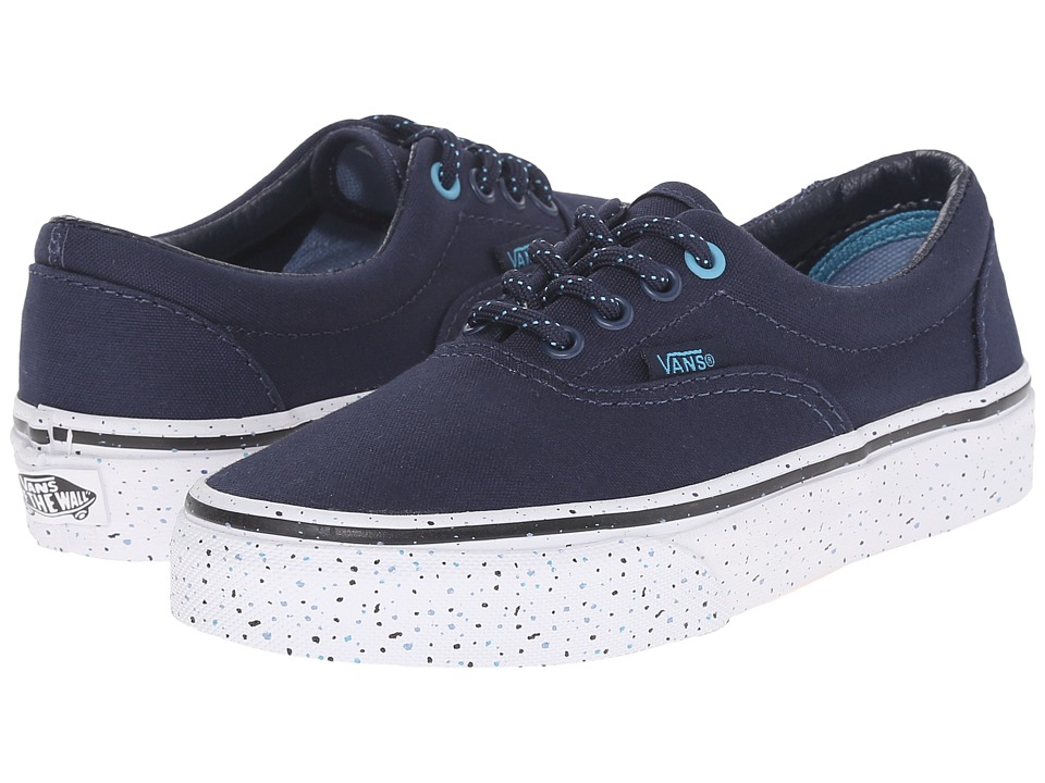 Vans Kids - Era (Little Kid/Big Kid) ((Speckle) Dress Blues/True White) Boys Shoes