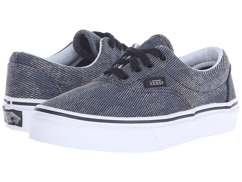 Vans Kids - Era (Little Kid/Big Kid) ((Acid Denim) Navy/Black) Boys Shoes