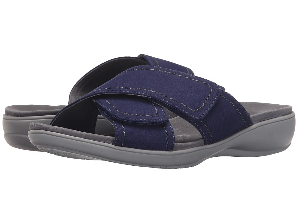 Trotters - Getty (Navy Canvas) Women's Sandals