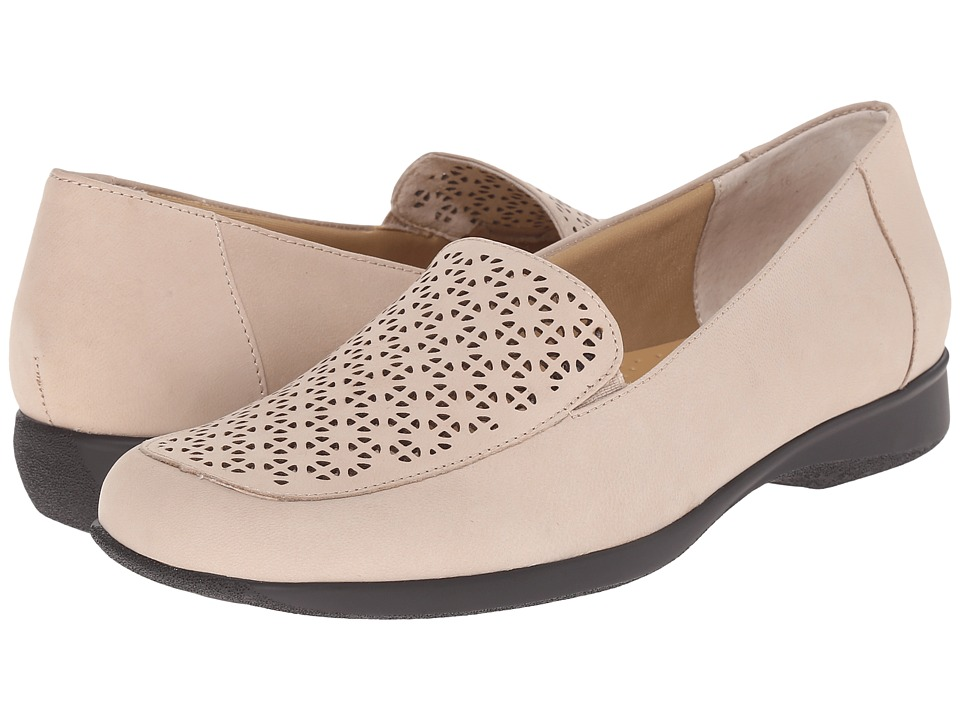 Trotters Jenn (Sand Nubuck Leather Laser Cut) Women