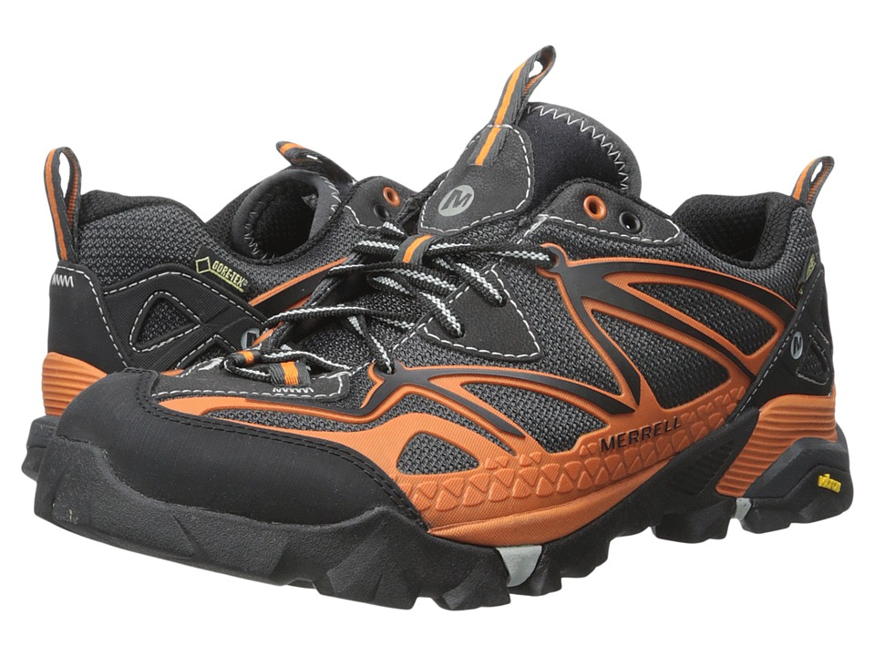 Merrell - Capra Sport GORE-TEX (Orange) Men's Lace up casual Shoes