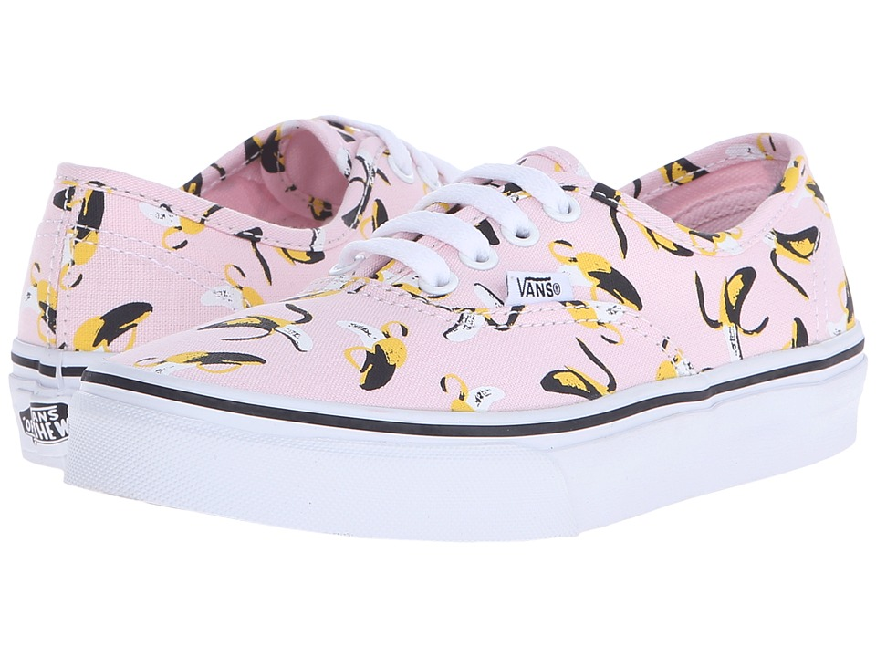 Vans Kids - Authentic (Little Kid/Big Kid) ((Bananas) Ballerina/True White) Girls Shoes