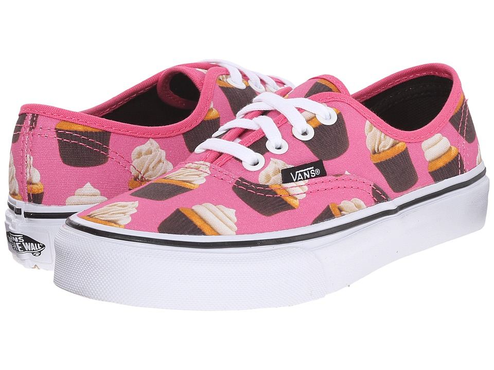 vans authentic shoes rhubarb and white cake