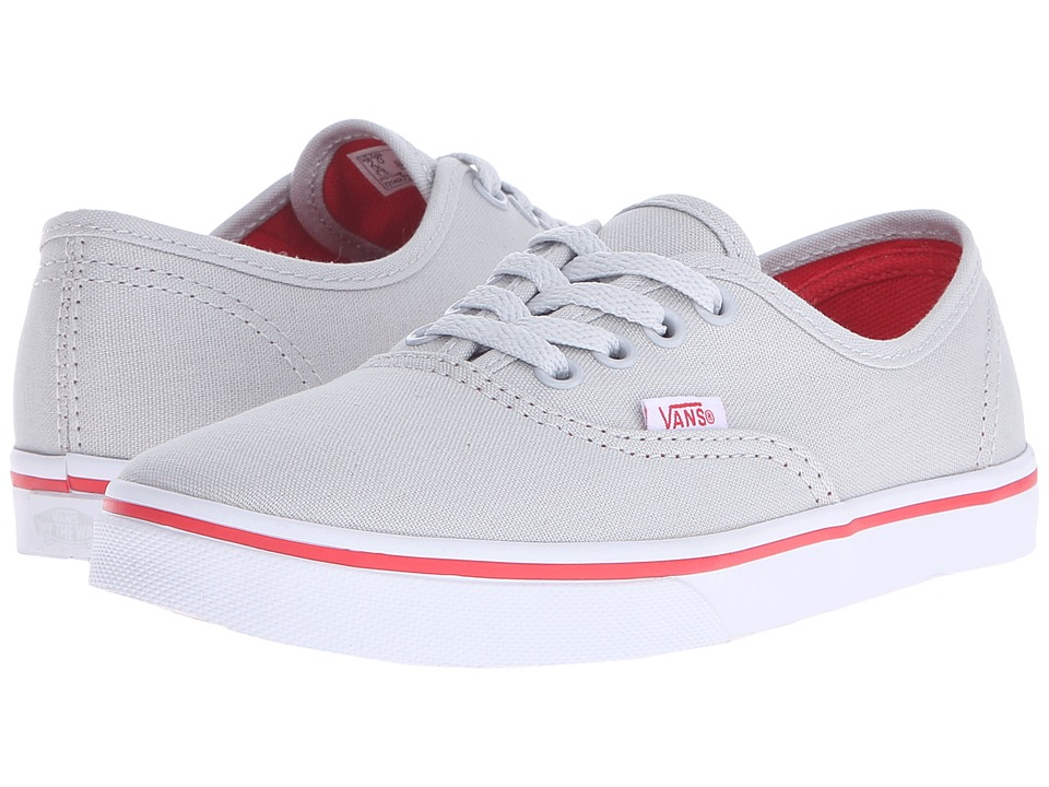 Vans Kids - Authentic Lo Pro (Little Kid/Big Kid) (Glacier Gray/Bittersweet) Girls Shoes