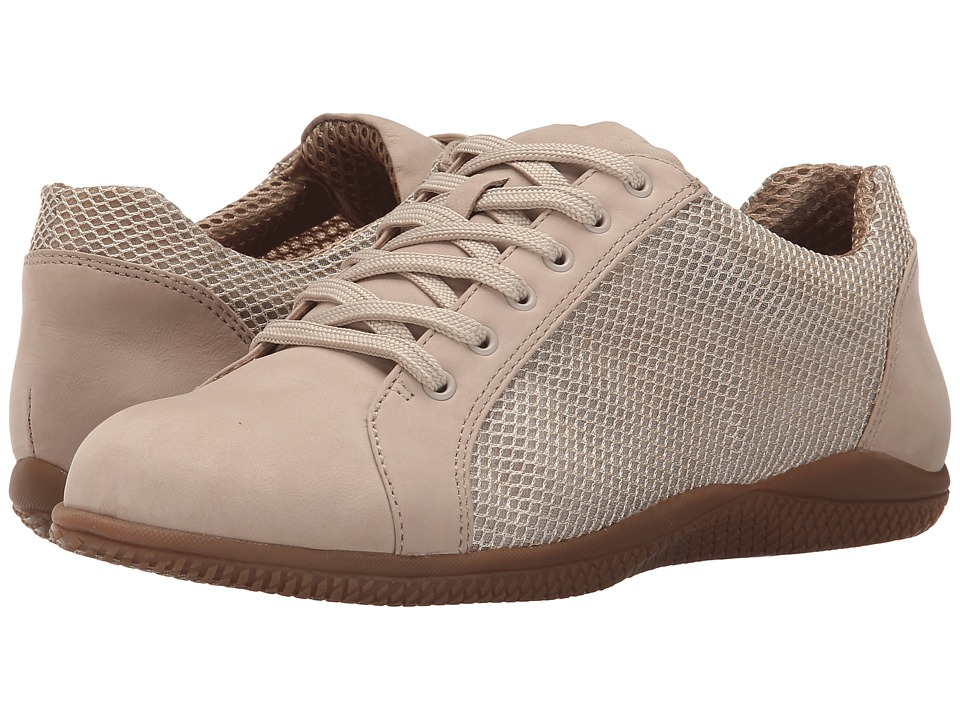 SoftWalk - Hickory (Sand Nubuck Leather/Mesh Fabric) Women