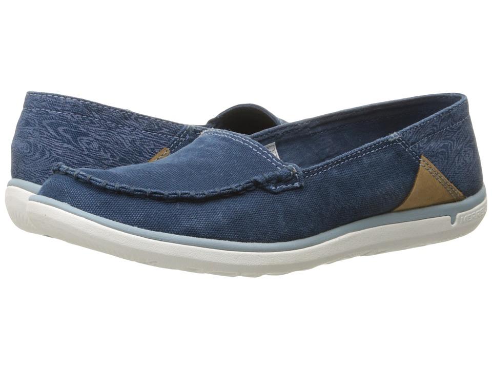 Merrell - Duskair Moc (Blue Wing) Women's Shoes