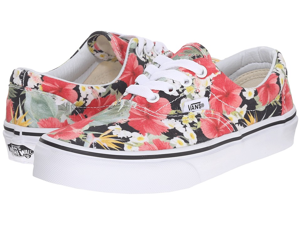 Vans Kids - Era (Little Kid/Big Kid) ((Digi Hola) Black/True White) Girls Shoes