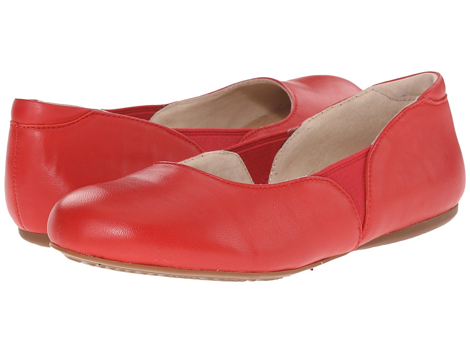 SoftWalk - Norwich (Red Soft Nappa Leather) Women