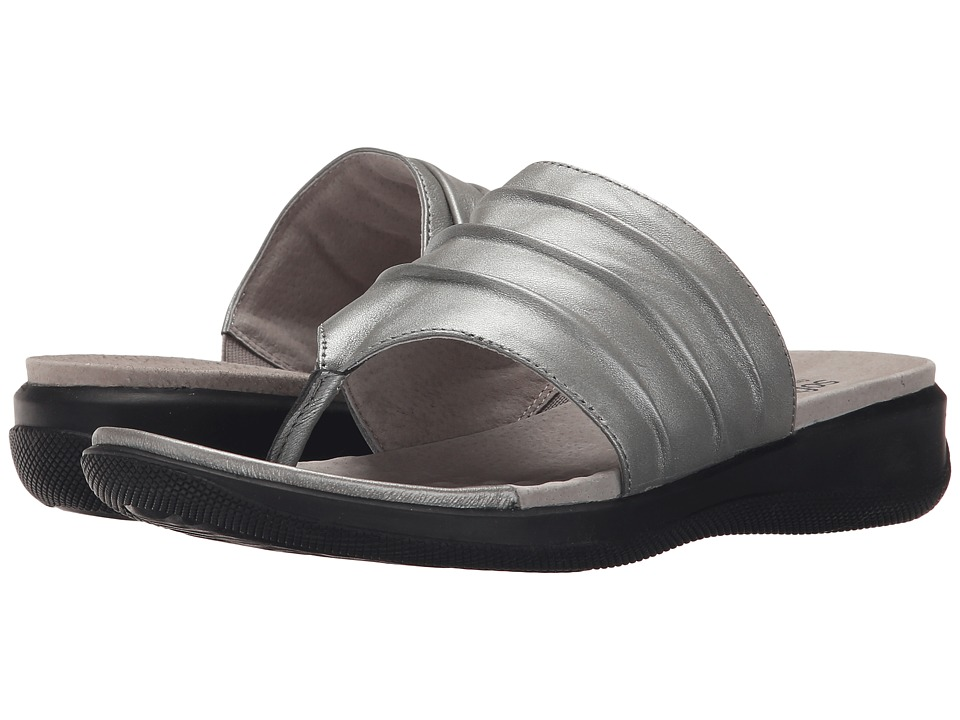 SoftWalk - Toma (Pewter Soft Nappa Leather) Women