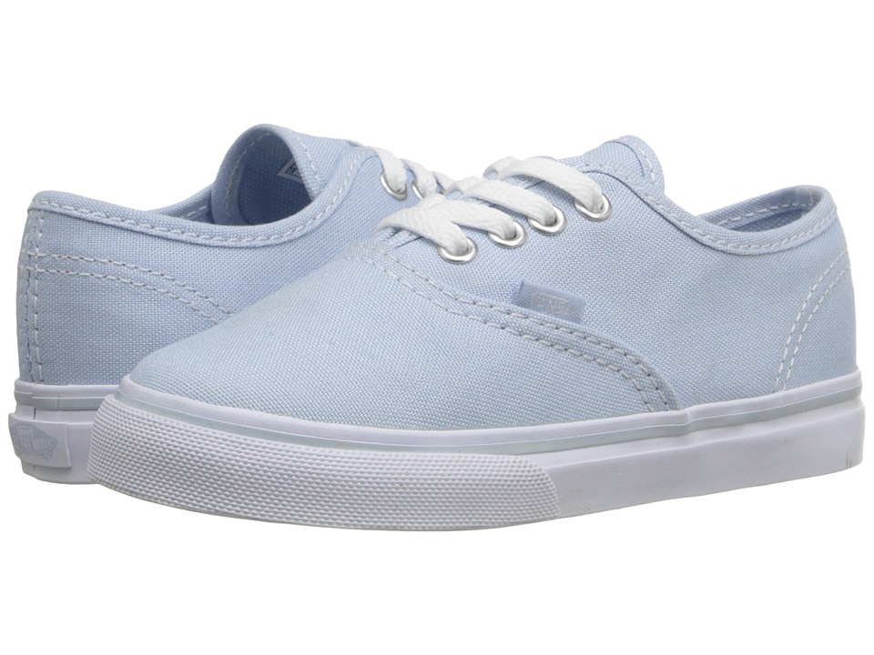 Vans Kids - Authentic (Toddler) (Skyway/True White) Girls Shoes