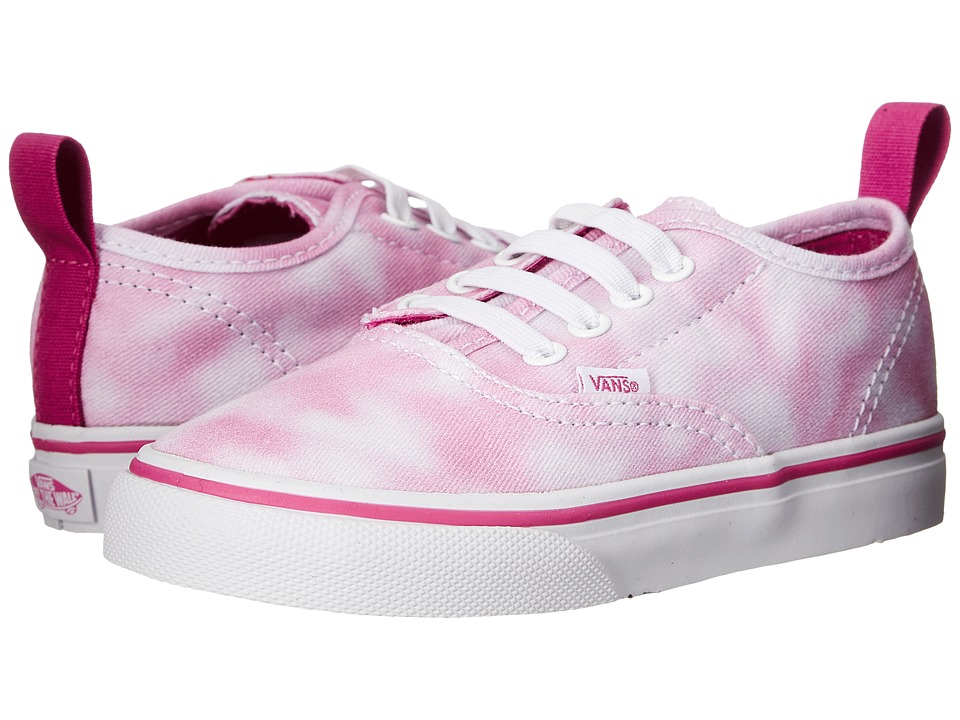 Vans Kids - Authentic V Lace (Toddler) ((Tie Dye) Rose Violet) Girls Shoes