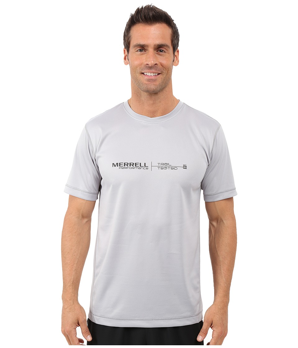 Merrell - Speed Logo Tech Tee (Ash) Men's T Shirt