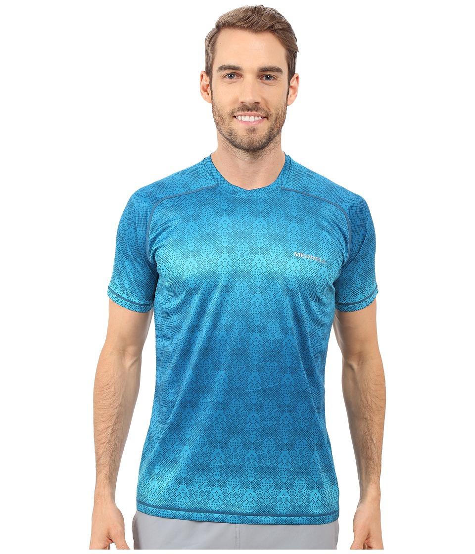 Merrell - Ascendancy Printed Tee (Celestial Print) Men's T Shirt