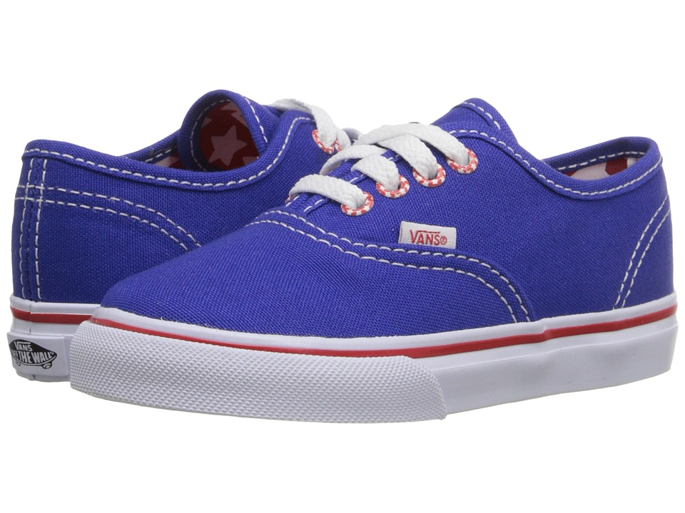 Vans Kids - Authentic (Toddler) ((Star Eyelet) Surf The Web) Girls Shoes