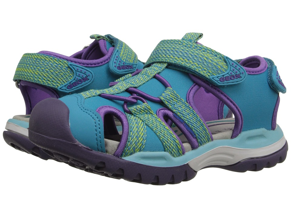 Geox Kids - Jr Borealis Girl 2 (Toddler/Little Kid) (Watersea) Girl