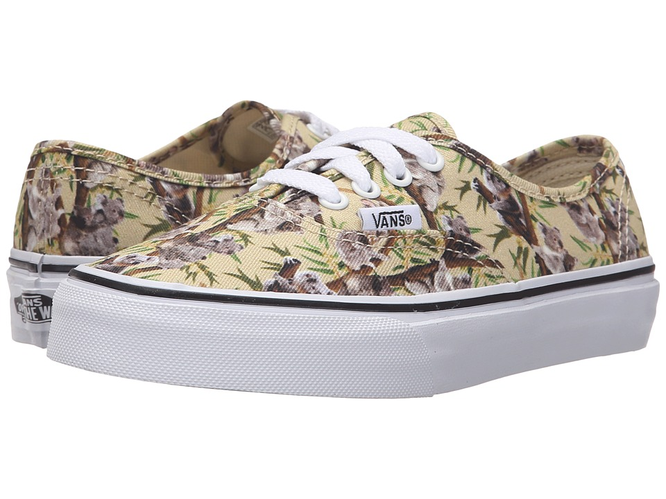 Vans Kids - Authentic (Little Kid/Big Kid) ((Chambray) Koala/True White) Girls Shoes