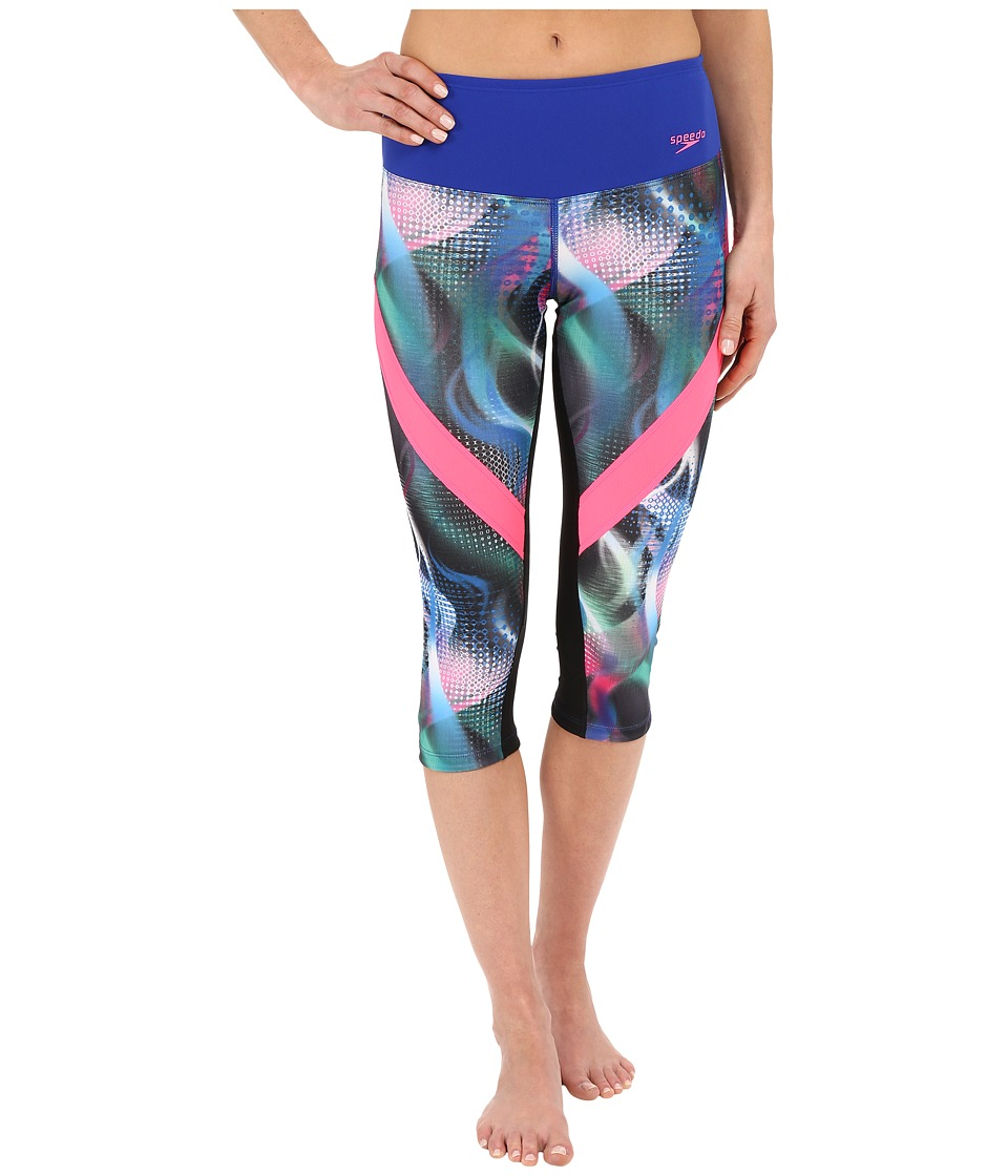 Speedo - Power Prism Leggings (Multi) Women's Workout