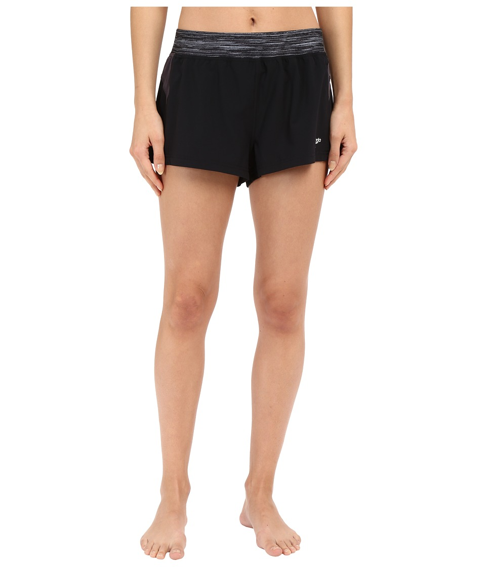 Speedo - 4-Way Stretch Shorts (Speedo Black) Women's Swimwear