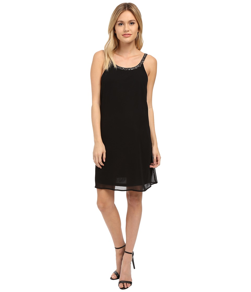 ONLY - Piper Embellished Strap Dress (Black) Women's Dress