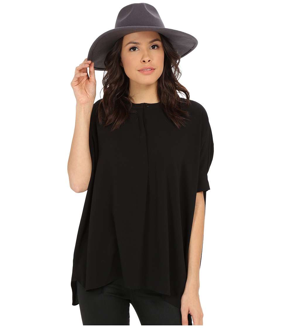 ONLY - Oscar New Oversize Blouse (Black) Women's Blouse