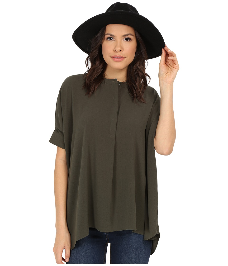 ONLY - Oscar New Oversize Blouse (Forest Night) Women's Blouse