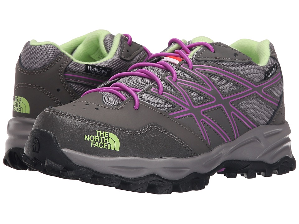 The North Face Kids - Jr Hedgehog Hiker WP (Little Kid/Big Kid) (Silver Grey/Sweet Violet) Girls Shoes