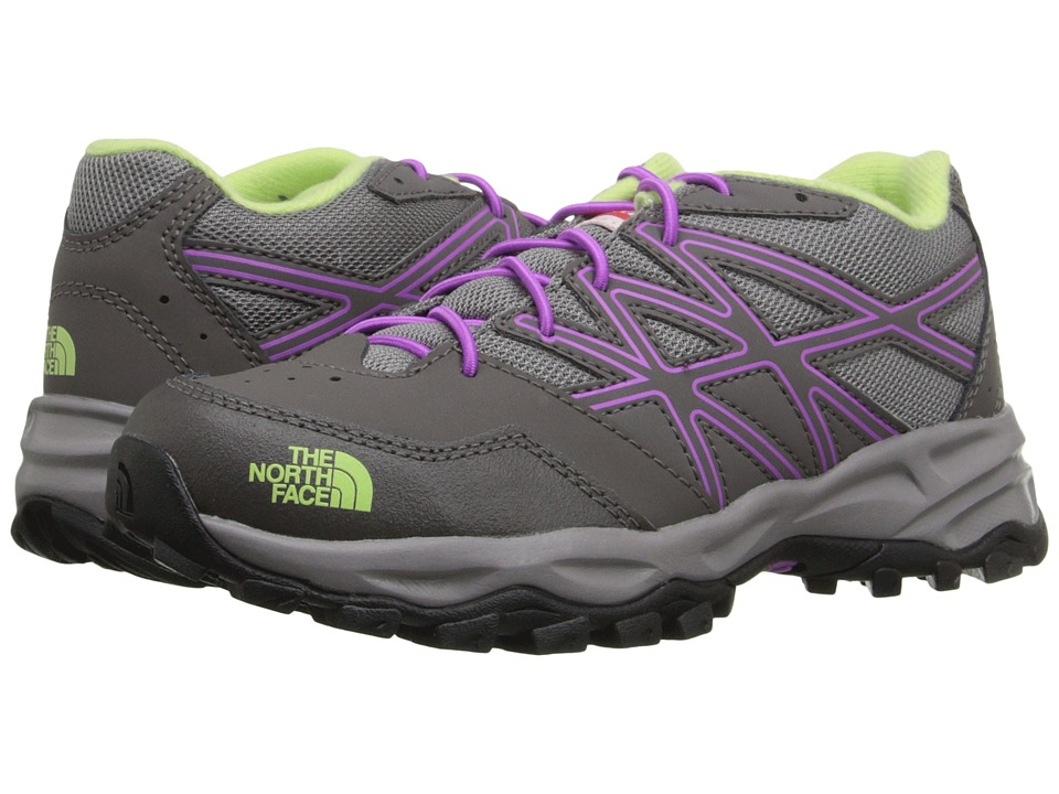 The North Face Kids - Jr Hedgehog Hiker(Little Kid/Big Kid) (Silver Grey/Sweet Violet) Girls Shoes