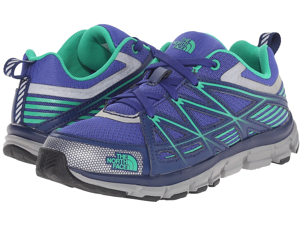 The North Face Kids - Jr Endurance(Little Kid/Big Kid) (Marker Blue/Blarney Green) Boys Shoes