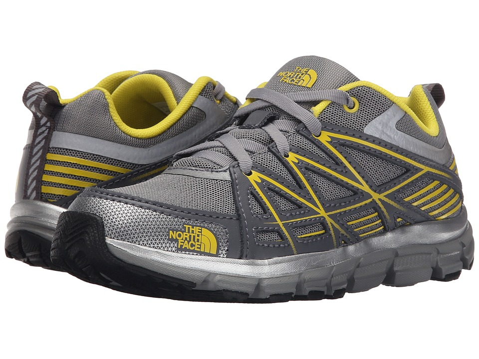 The North Face Kids - Jr Endurance(Little Kid/Big Kid) (Griffin Grey/Blazing Yellow) Boys Shoes